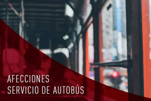 AFECCIONES DE AUTOBUS