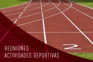 Convocatoria de reuniones Actividades Deportivas 2020/21