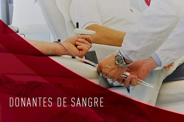 DONANTES DE SANGRE CADRETE
