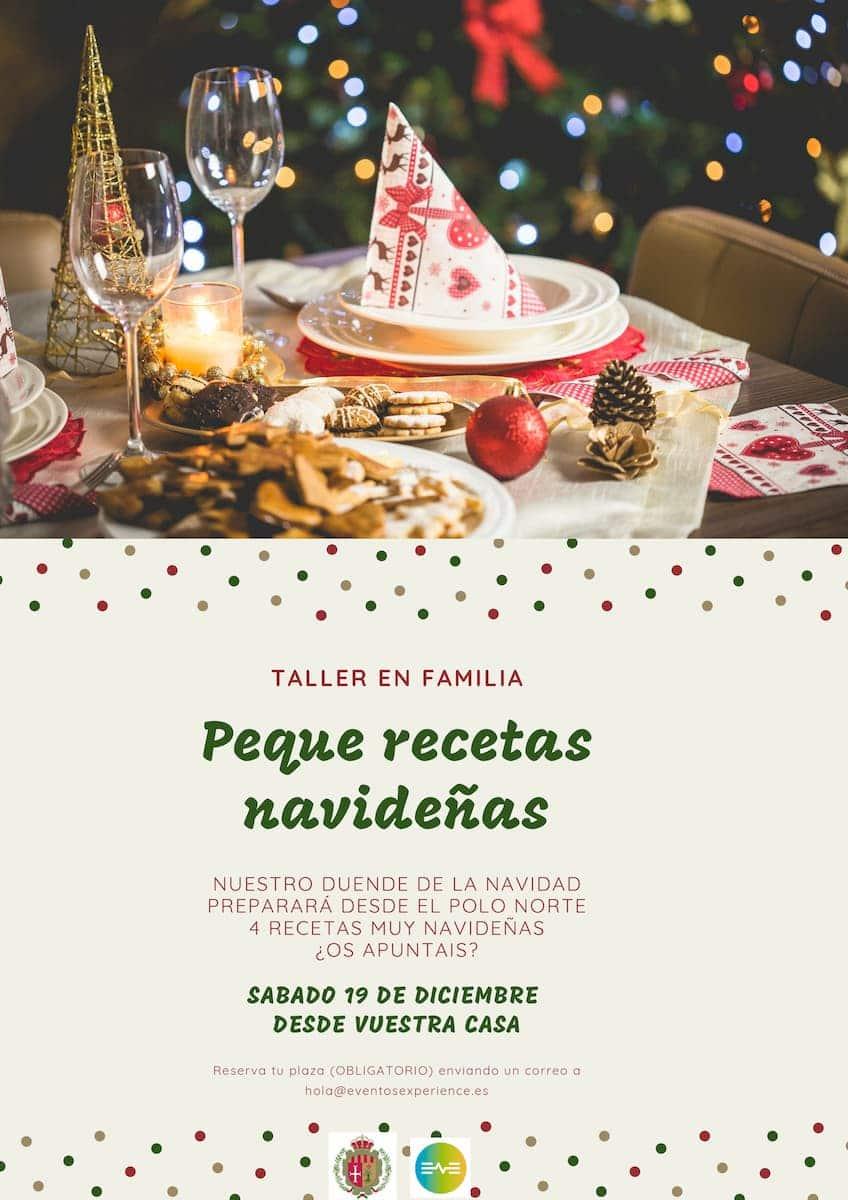 Cartel Cocina navideña Cadrete