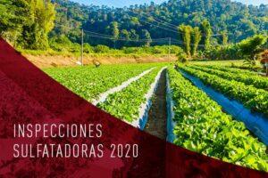 inspecciones sulfatadoras 2020