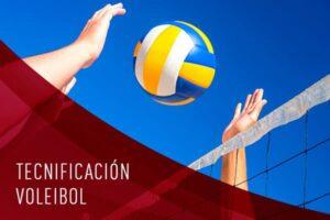 tecnificación de voleibol