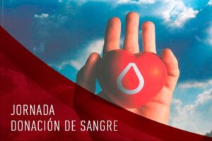 Cartel informativo Jornada de donación de sangre