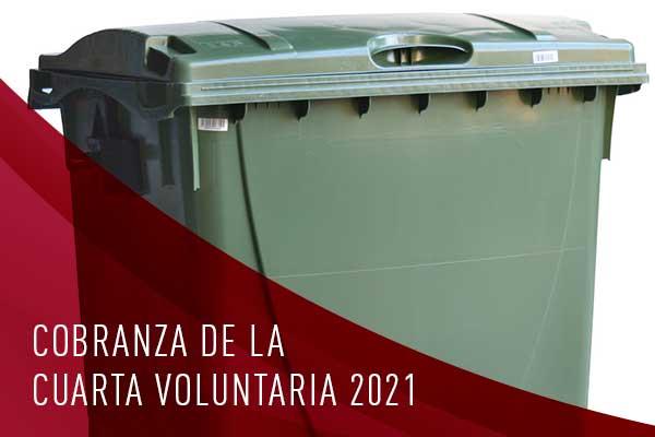 cobranza de la cuarta voluntaria 2021